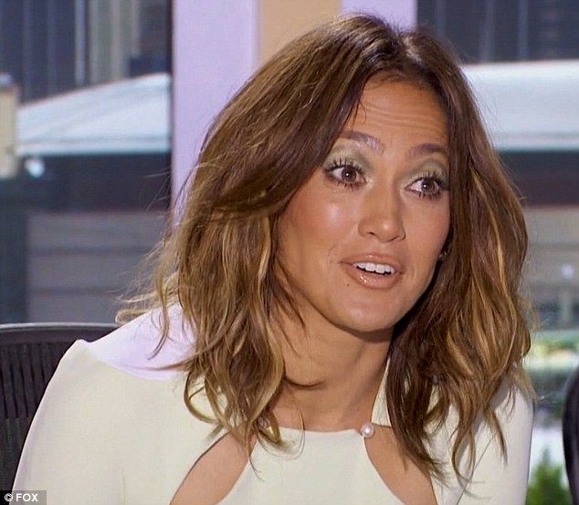 Outdoor living: Jennifer Lopez said she could 'never sleep outside' on Thursday's episode of American Idol
