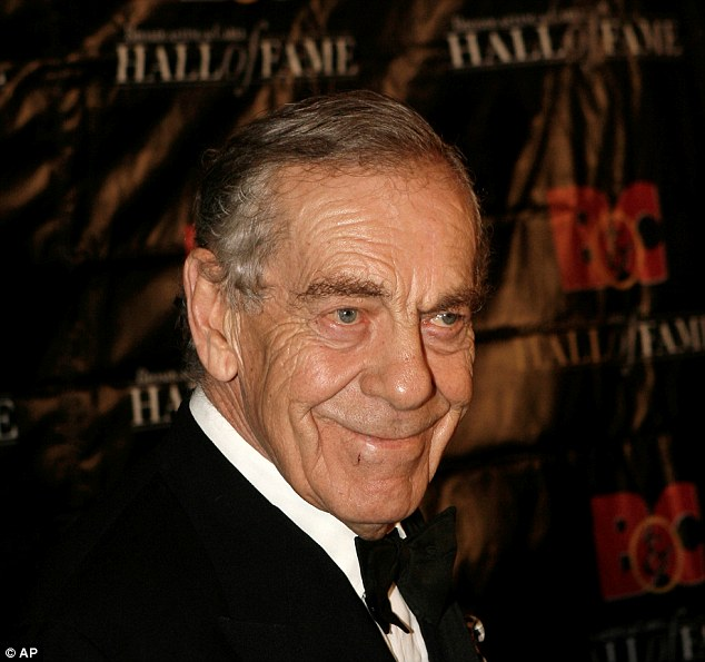 So long:Morley Safer (above in 2008) has passed away at the age of 84