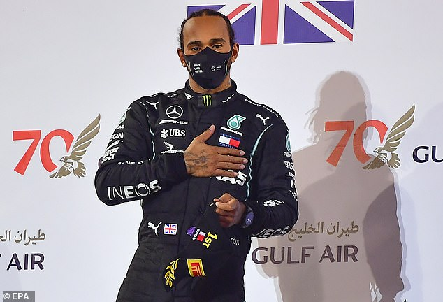 Lewis Hamilton has tested positive for coronavirus days after winning the Bahrain Grand Prix